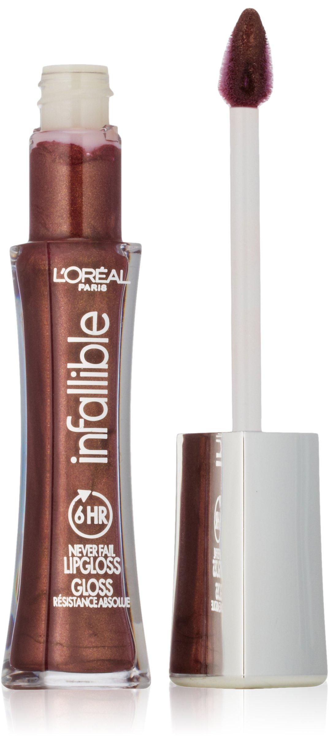 LOreal PARIS Infallible Never Fail Lip Gloss 815 Barely