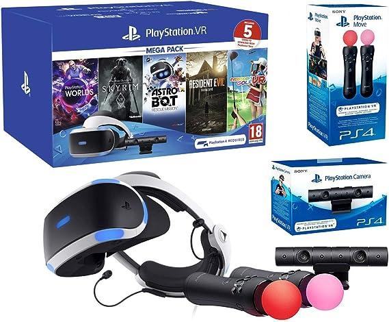 PlayStation VR2 MegaPack 2 Astro Bot + Skyrim V + Resident Evil 7 ...