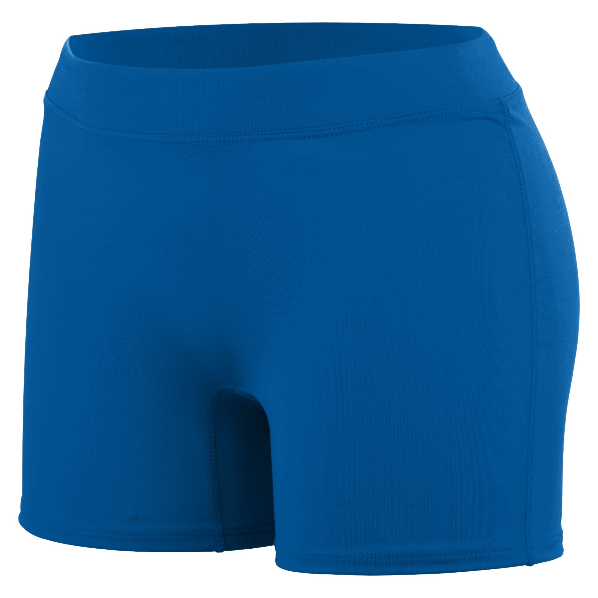 Augusta Sportswear Women's Enthuse Volleyball Shorts, Royal, Small