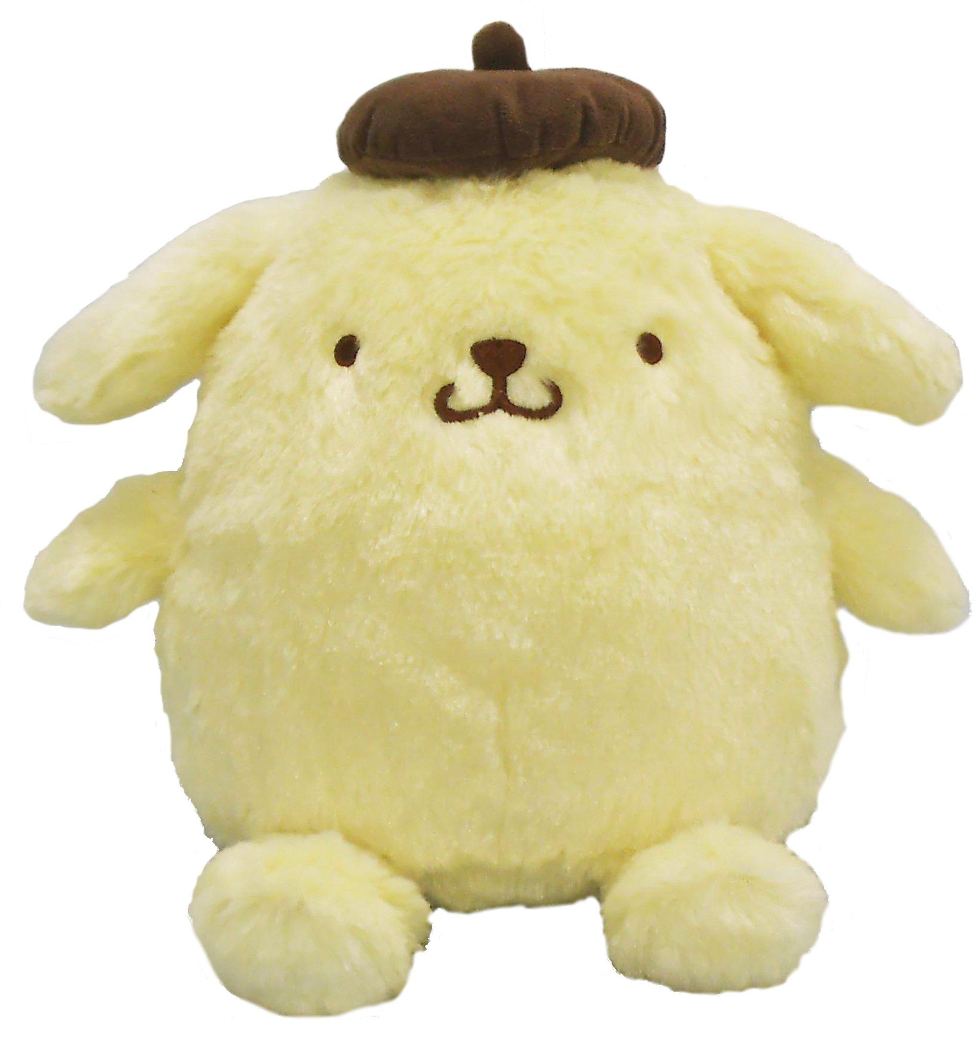 Sanrio Hug Hug a stuffed toy series M Pom Pom Purin sitting height 26cm