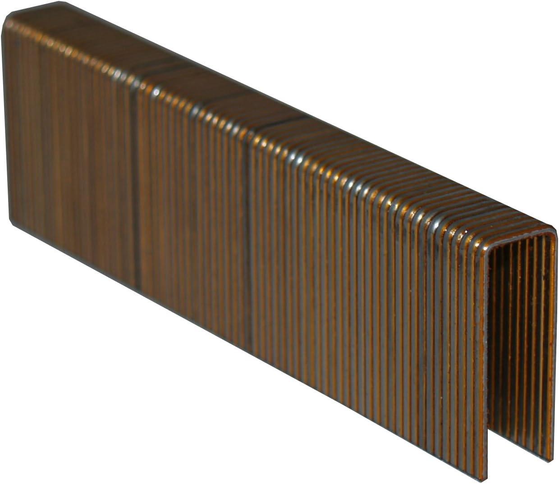 "Spotnails 7608PG 16 Gauge 1/"" Leg x 1//2/"" Medium Crown Galvanized Staples Pack of"