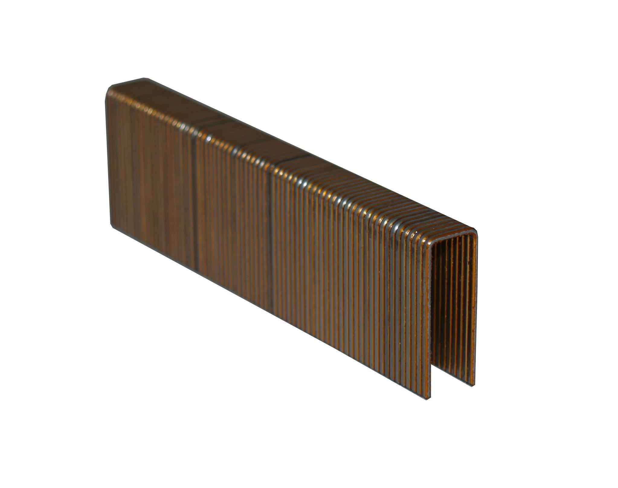 Spot Nails 6614PG-10M 7/16-Inch 16-Gauge Galvanized Crown Senco Style Sheathing Staples, 10000-Count, 1-3/4-Inch Leg