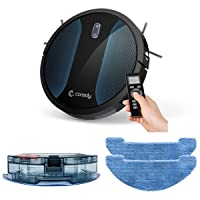 Coredy Robot Vacuum Cleaner, Fully Upgraded, Boundary Strip Supported, 360° Smart...