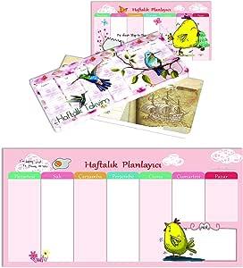 Keskin Color 830132-99 Civciv 12x26 Haftalık Planner Blok Haftalık Planlayıcı Civciv