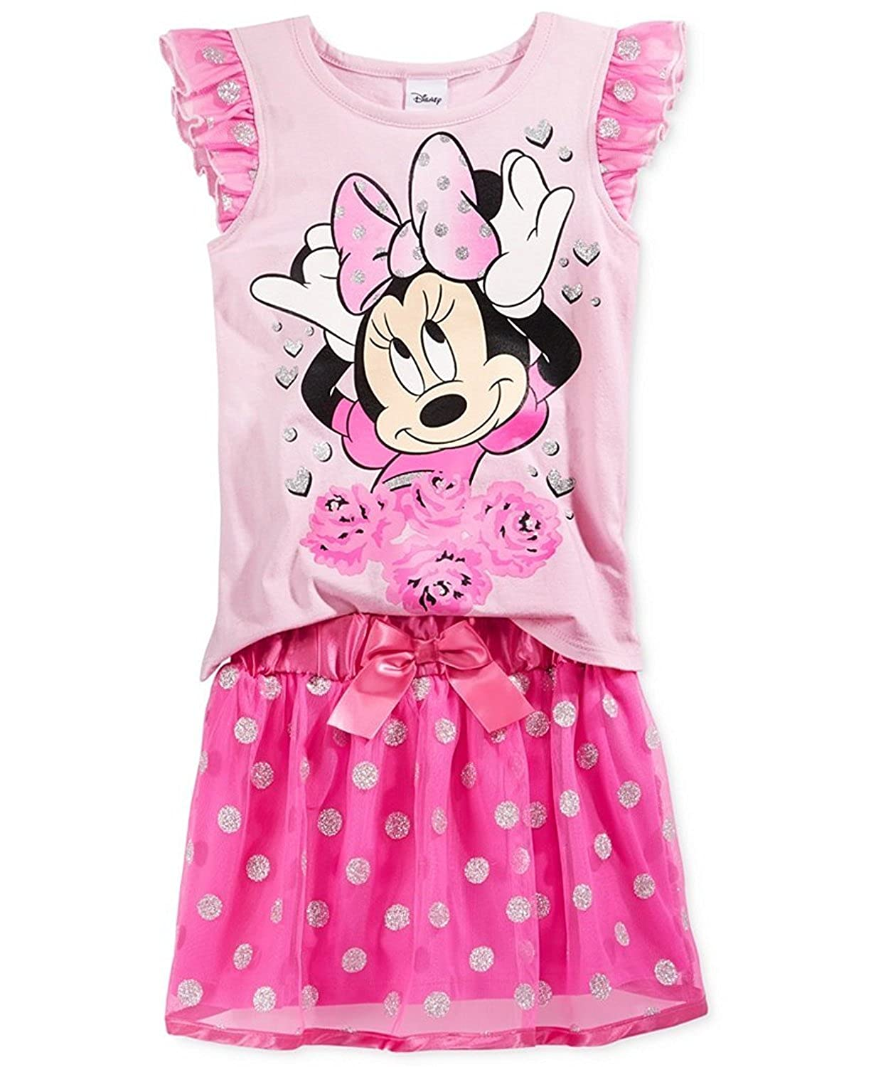 Amazon.com: De Minnie Mouse de Disney Little Girls '2 ...