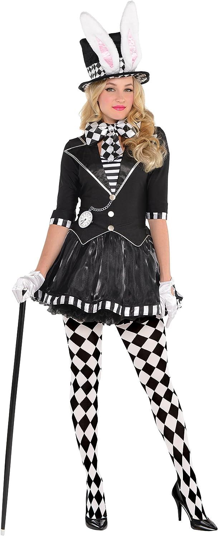 Disfraz Mujer Disfraz Amscan Mujer el sombrerero loco negro obscur