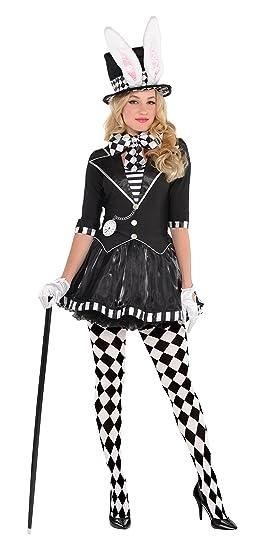Amscan Adult Dark Mad Hatter Costume   Plus XXL (18 20)