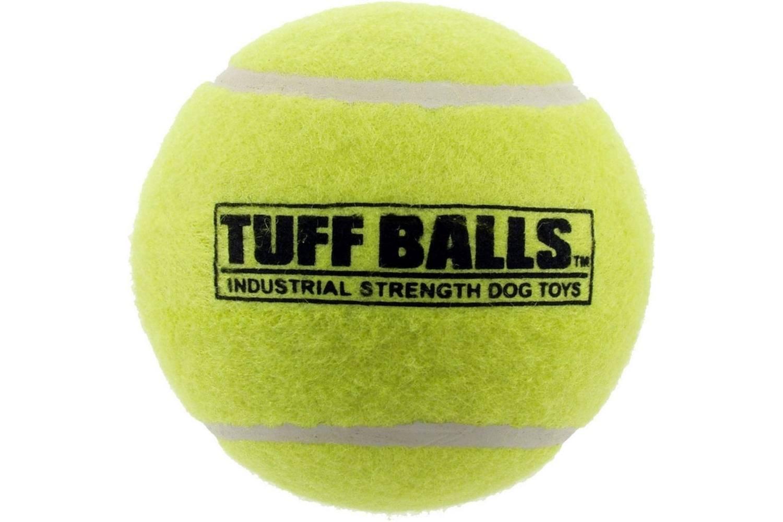 Pack of 12 4\ PetSport USA 70100 4  Tuff BallsTM Pet Tennis Ball pack of 12