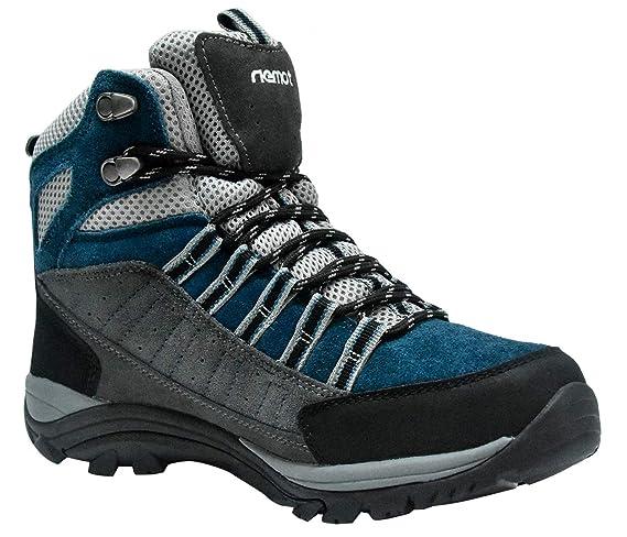 435fe53a86b246 Riemot Damen Trekking-   Wanderstiefel Wasserdicht Outdoor Wanderschuhe  Trail-Stiefel  Amazon.de  Sport   Freizeit