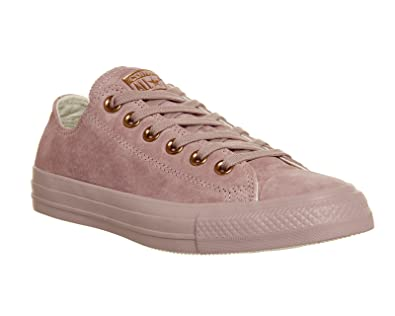 a8d93235192 Converse CTAS Chuck Taylor All Star OX Premium Suede Burnished Lilac Rose  Gold Exclusive (7