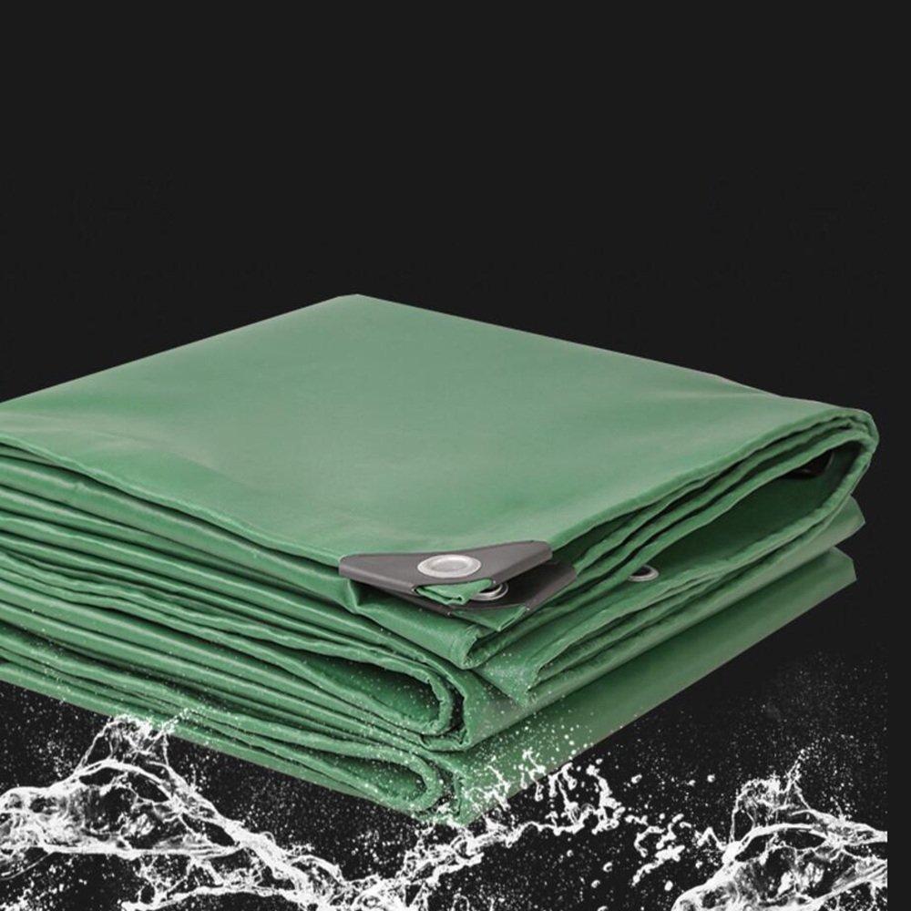 Zelt Wasserdichtes Tuch Außen Dicker Plane \ Canvas Canvas Canvas \ Regen Tuch \ PVC Kunststoff Tuch \ Schatten Tuch \ Wasserdicht Sonnencreme Plane \ Canopy Tuch 500g\m² (Dicke 0,42 mm) Es ist Weit verbreitet B07F9VPW5K Zelte Hohe Qualität e5b228