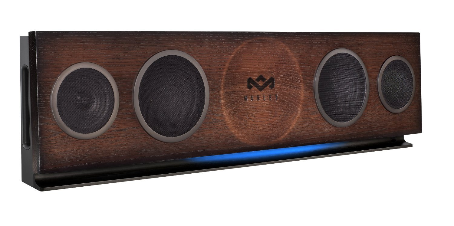 The House of Marley One Foundation - Sistema de audio con Bluetooth, negro