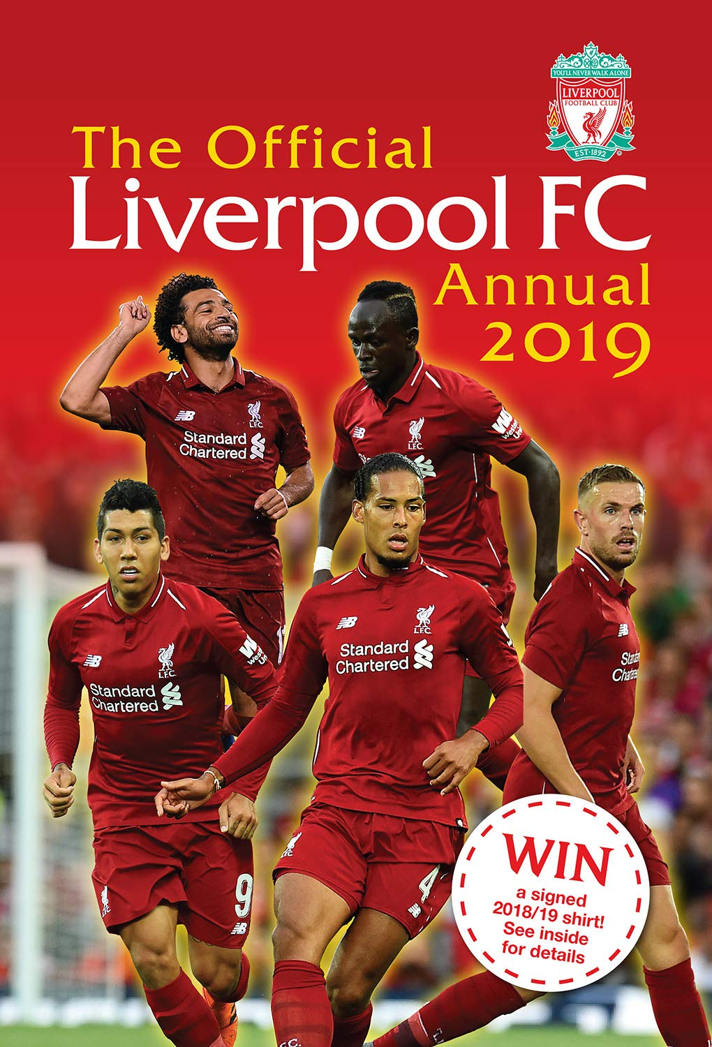 finest selection 1eba6 f51a7 The Official Liverpool FC Annual 2019: Amazon.co.uk: Mark ...