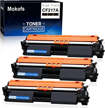 CF217A Toner Cartridge Replacement for HP Laserjet Pro MFP M130a M130nw M130fn M130fw M102a M130fw Printer 7 Pack Black 17A