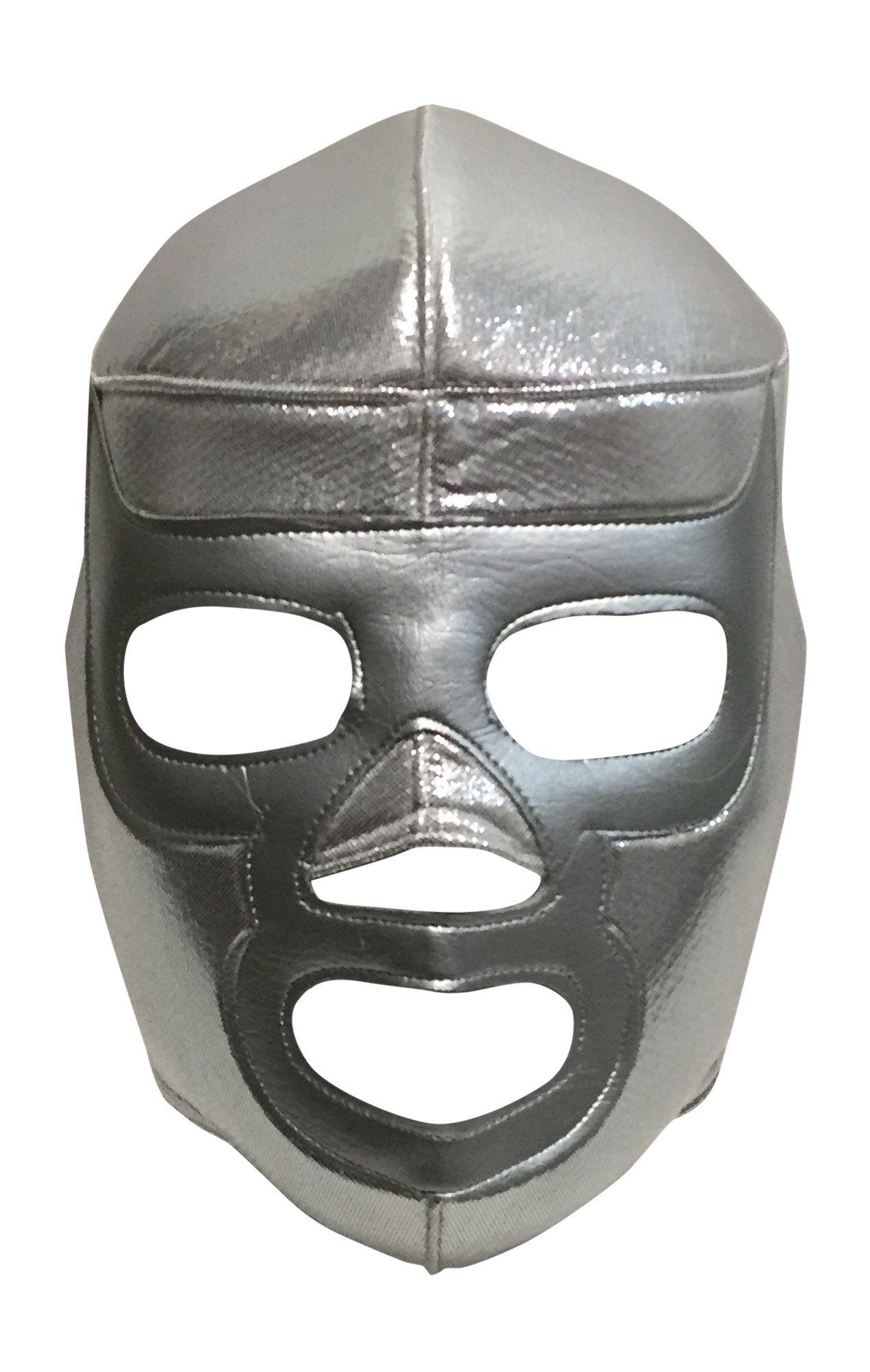 SILVER RAMSES Lucha Libre Wrestling Mask (pro-fit) Costume Wear - SILVER