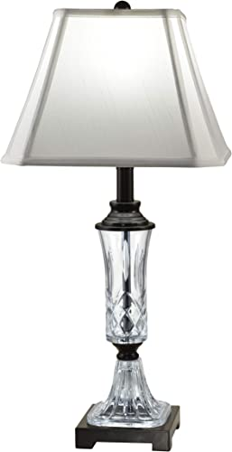 Dale Tiffany GT18329 Alivia 24 Lead Hand-Cut Crystal Table Lamp