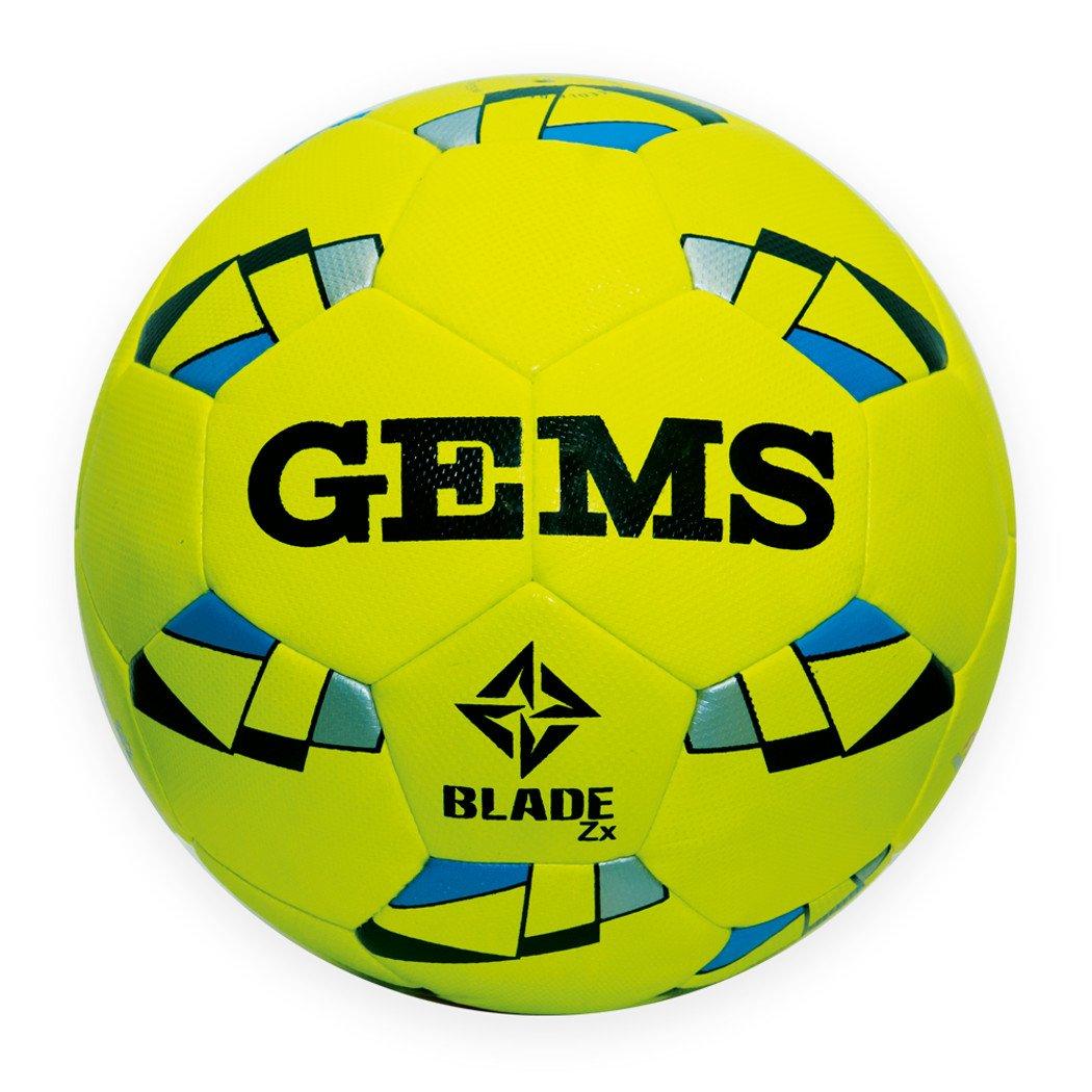 Gems Blade ZX 4Ballon de futsal avec rebond contrôlé, jaune