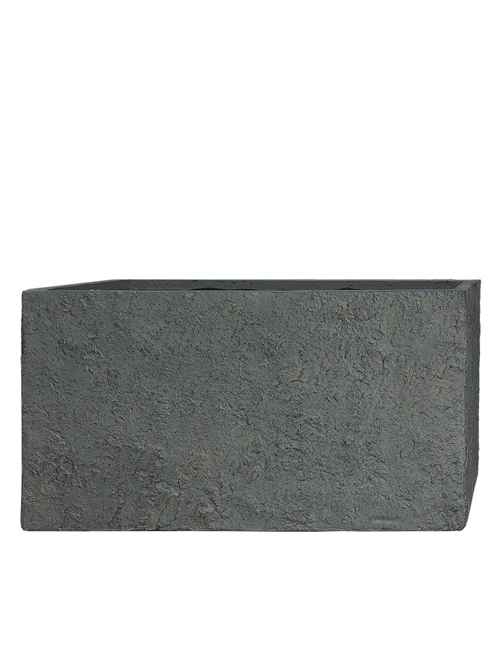 PFLANZWERK® Pflanzkübel TUB Lava Grau 45x100x45cm *Frostbeständig* *UV-Schutz* *Qualitätsware*