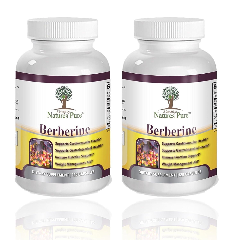 Premium Berberine HCl 500mg – 240 Capsules – Cardiovascular gastrointestinal Immune Weight Loss Support- Chromium Cinnamon