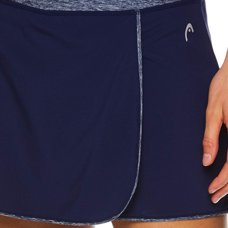 Performance Training /& Running Skirt HEAD Womens Athletic Tennis Skort Small Prestige Medieval Blue
