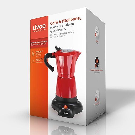 Domoclip Cafetera Electric Rojo: Amazon.es: Hogar