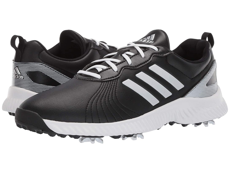 [並行輸入品] B07P9VC159 22.5 レディースゴルフシューズ靴 cm Response Bounce Black/Footwear Metallic White/Silver Core [アディダス]