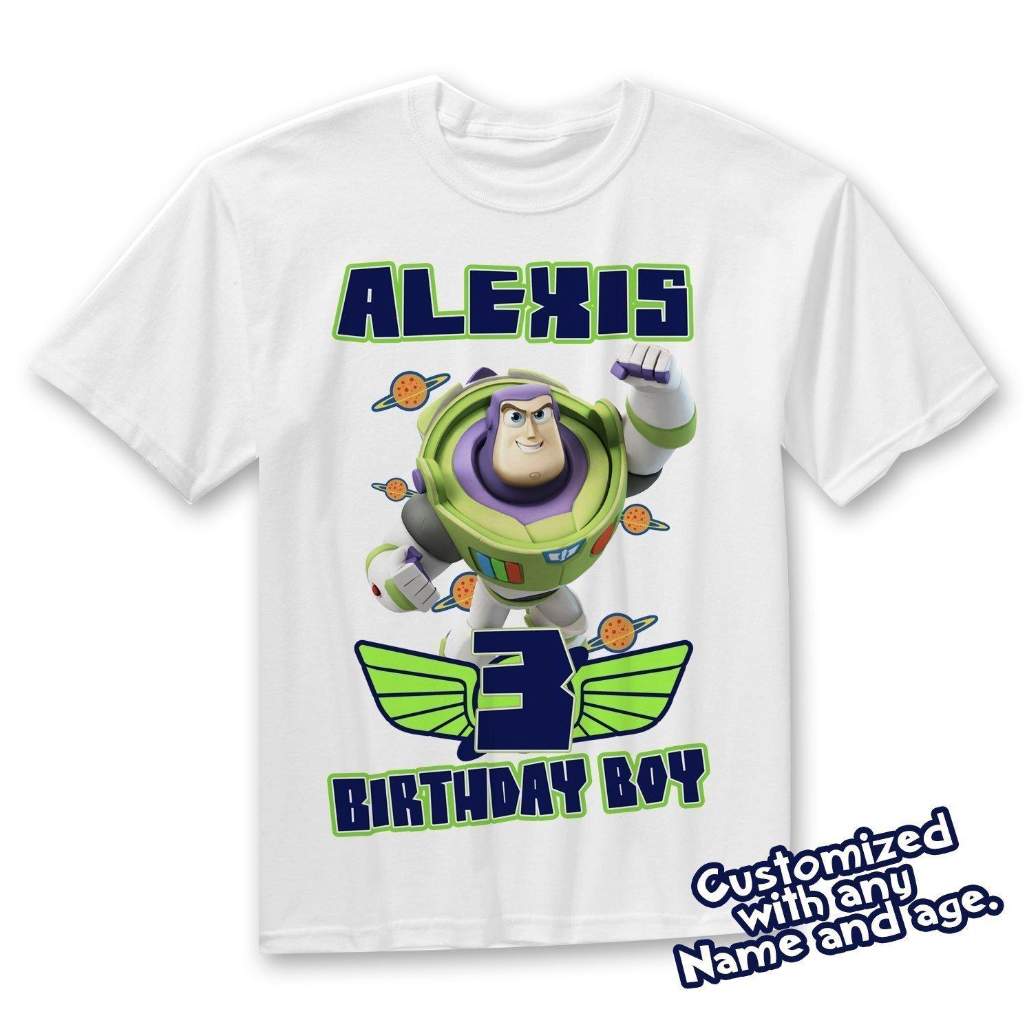 Buzz Lightyear Birthday Shirt - Toy Story Buzz Shirt