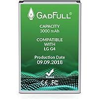 GadFull Batería de reemplazo para LG G4 | 2018 Fecha de producción | Corresponde al Original BL-51YF | Compatible con LG G4 | G4 Dual Sim | G4 Stylus | H815 | H818P | H635