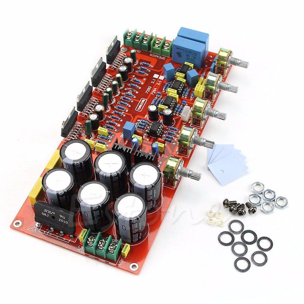 Generic Tda7294 2 X 80w 160w Subwoofer Low Pass Filter Amplifier Circuit Bass Amp Electronics