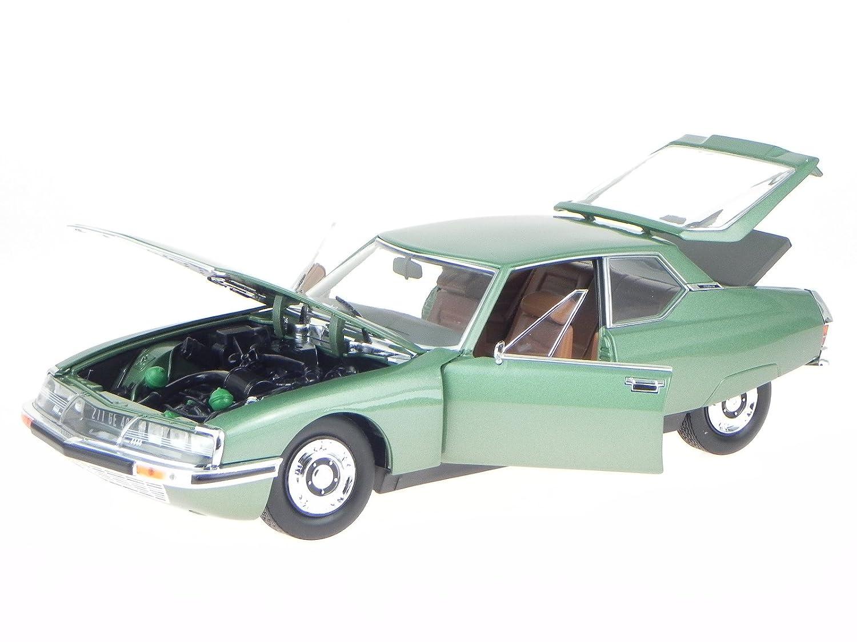 Citroen SM 1971 grün Modellauto 181567 Norev 1:18