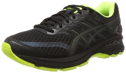 Asics Men's Gt-2000 6 Running Shoes, Black: Amazon.co.uk