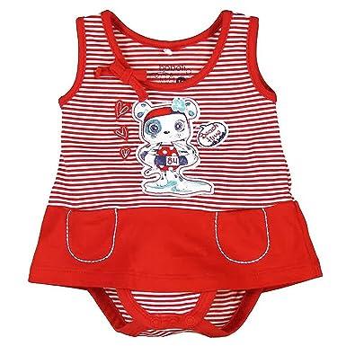 boboli - Pelele - para bebé niña Rojo 80 cm