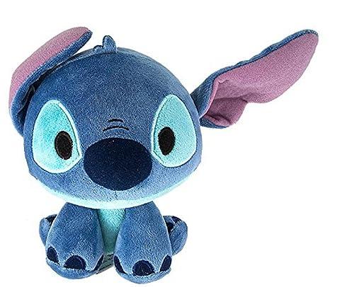 "Parques de Disney Lilo y Stitch punto de borla de peluche cabeza 8,25 """