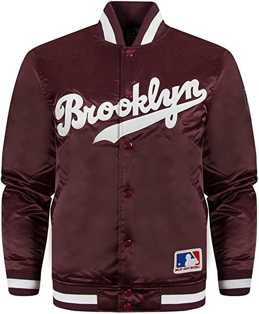 Oficial Majestic Athletics Brooklyn Varsity - Chaqueta ...