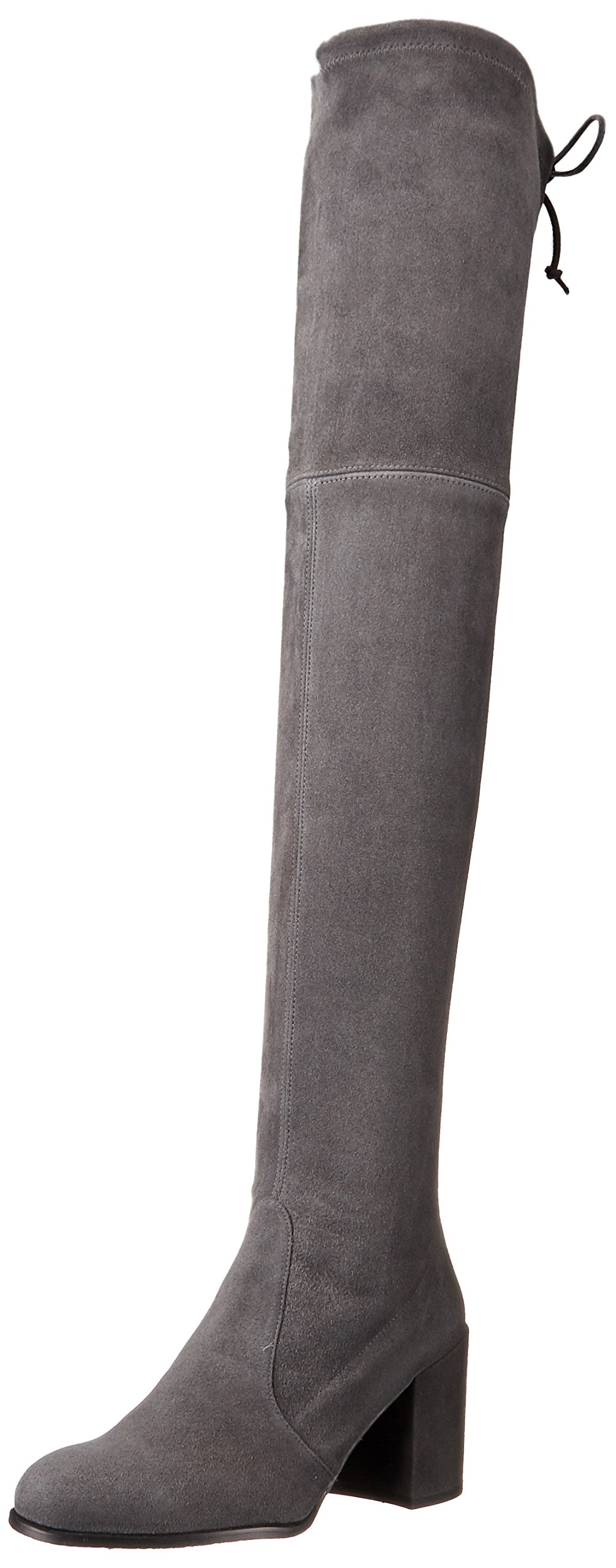 Stuart Weitzman Women's Tieland Over The Knee Boot, Slate Suede, 6 Medium US