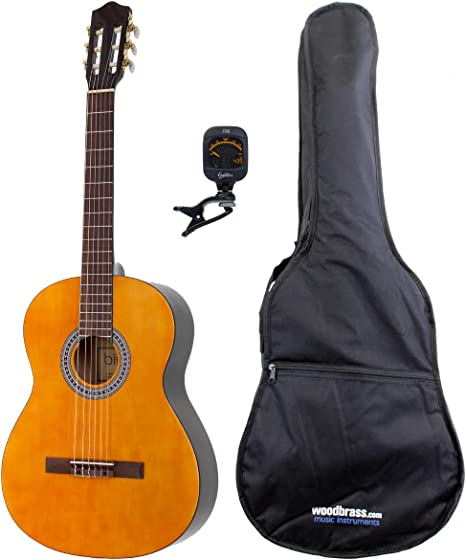 BRIGHTON PACK-guitarra acústica PACK-CG1 4/4 juego de accesorios ...