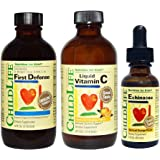 Childlife 3 Pack Immune Support: First Defense, Vitamin C, Echinacea