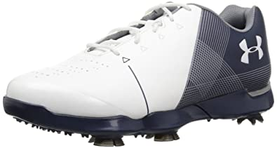 a0c54f526601e3 Amazon.com | Under Armour Kids' Spieth 2 Junior Golf Shoe | Athletic