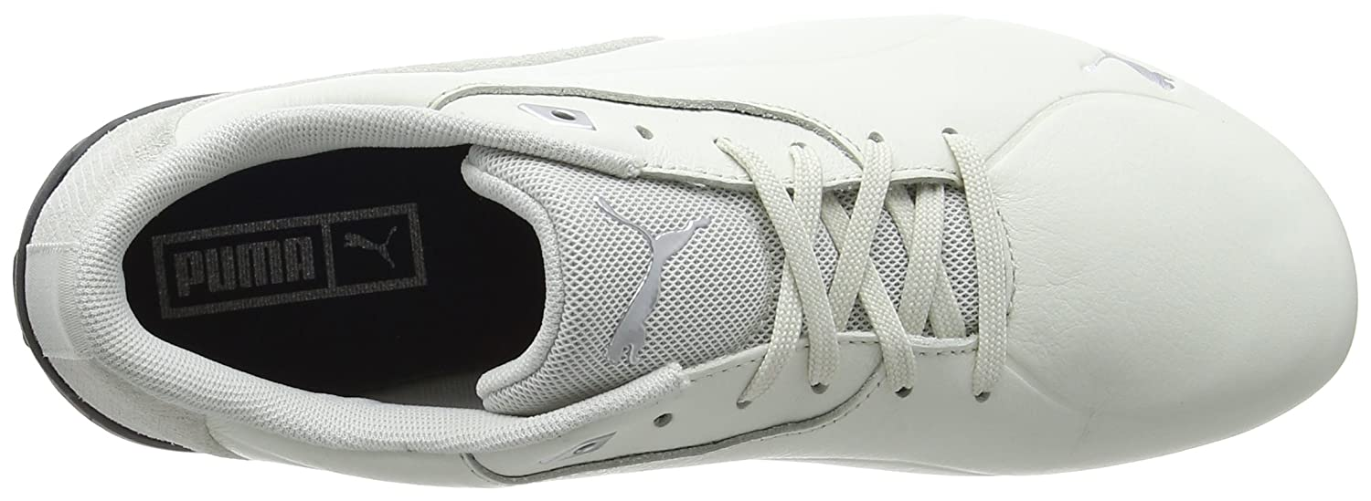 faaabe49cd3955 Puma Unisex Drift Cat 7 CLN White Sneakers - 12 UK India (47 EU)(36381302)   Amazon.in  Shoes   Handbags