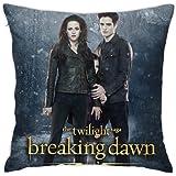 TylerPoll Twilight Saga Throw Pillow Covers Cushion Cover Cases Pillowcases Sofa Home Decor 18â€x 18â€Inch (45 X 45cm)