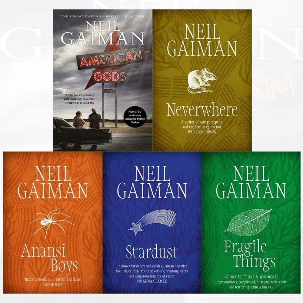 Neil gaiman collection 5 books collection set neverwhere neil gaiman collection 5 books collection set neverwhere stardust anansi boys fragile things american gods tv tie in neil gaiman 9789123598229 fandeluxe Image collections