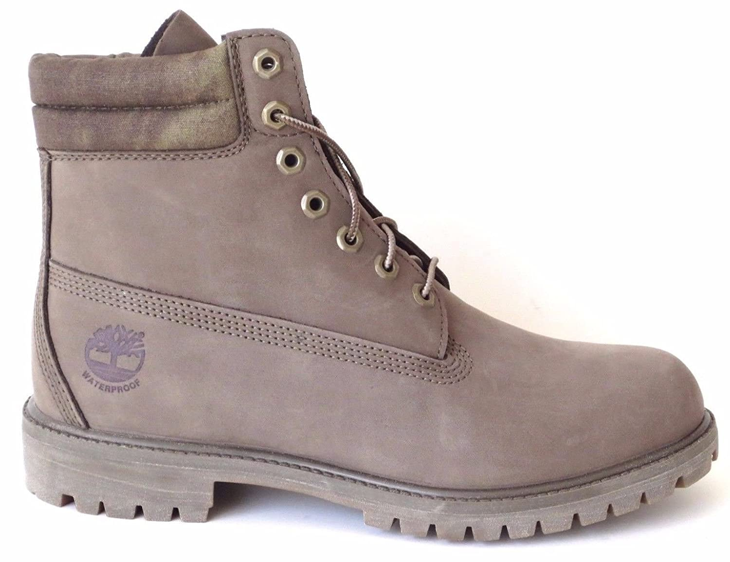 6 Inch Premium A18ZP Olive Waterproof Men's Hiking Boots
