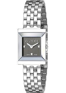 95f42826486 Gucci G-Timeless Rectangle YA138502  Amazon.co.uk  Watches