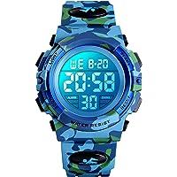 Reloj digital para niños, resistente al agua, reloj deportivo para niños, con despertador/cronómetro/12 – 24 h, reloj…