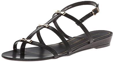 Chinese Laundry Women's Carefree Gladiator Sandal,Black,6 ...