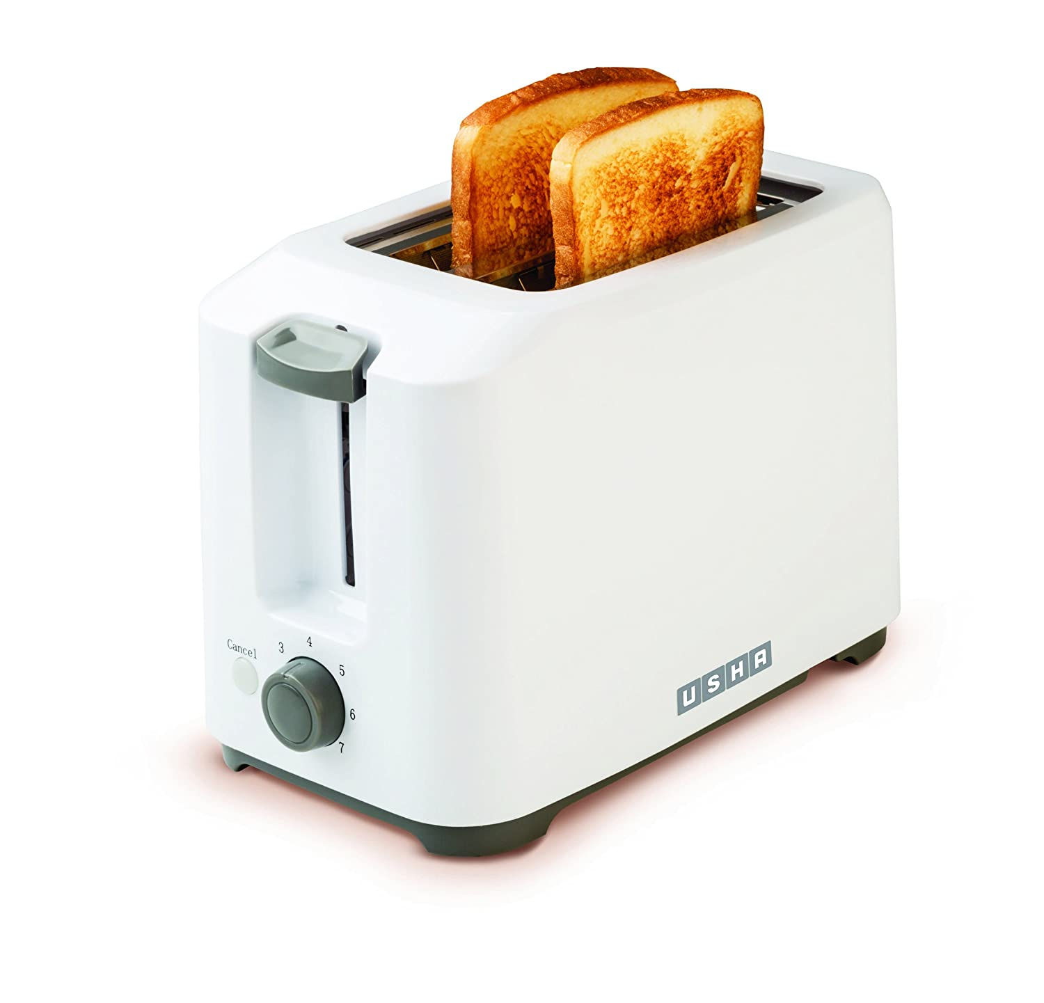 Buy Usha 3720 700-Watt 2-Slice Pop-up Toaster (White) Online at Low Prices  in India - Amazon.in