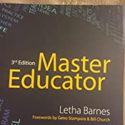 Master educator kindle edition by letha barnes health fitness customer image fandeluxe Gallery