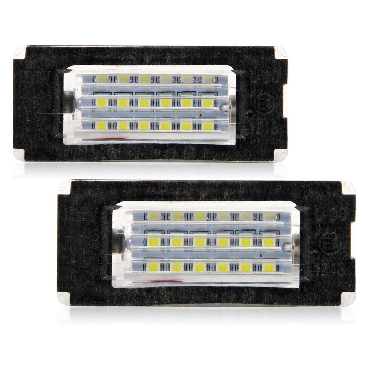 WinPower LED Luces de matr/ícula para coche L/ámpara Numero plato luces Bulbos 3582 SMD con CanBus No hay error 6000K Xen/ón Blanco frio para E39 E46 E60 E90 E91 E92 E93 F10 ect 2 Piezas