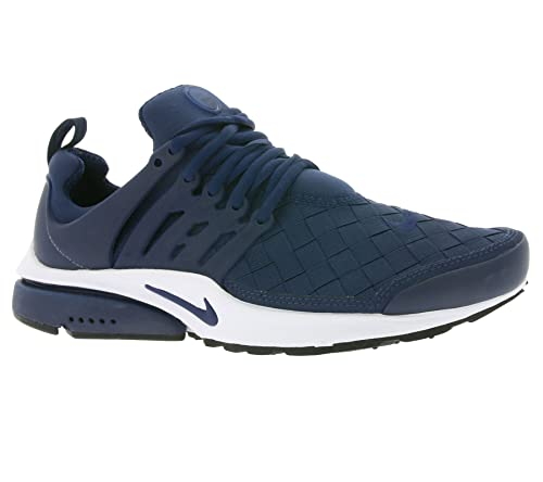 ba46360f60e59 Nike Mens Air Presto Padded Insole Workout Running Shoes Navy 8 ...