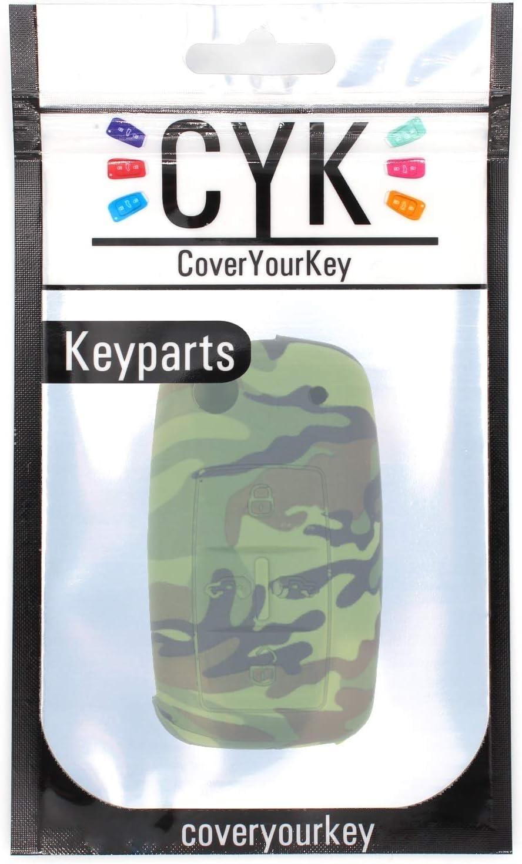 Finest-Folia AB Silicone Key cover for 5-button car keys